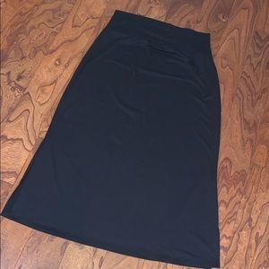 NWT Agnes & Dora side slit maxi skirt